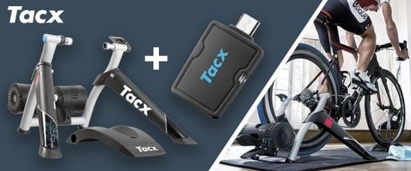 50% korting Tacx Ironman en gratis ANT+ Dongle