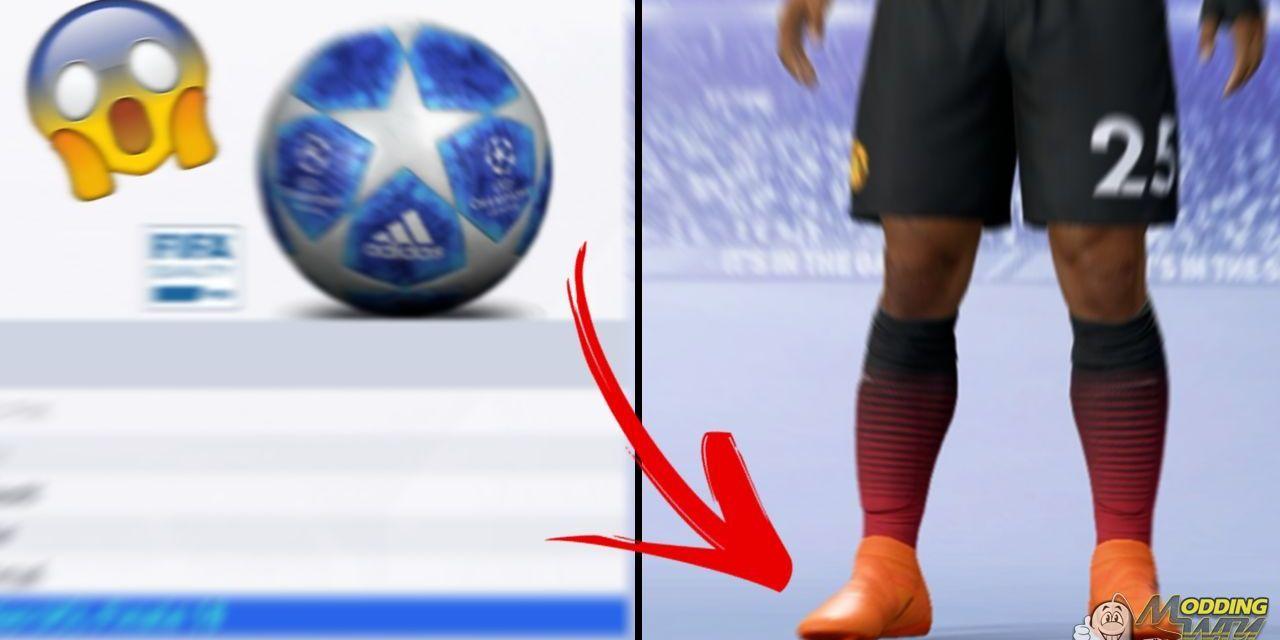 Odblokowane wszystkie buty i piłki w FIFA 19