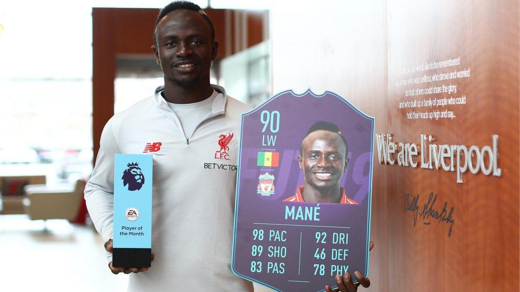 FIFA 19: Sadio Mané POTM March announced for the Ultimate Team mode   FifaUltimateTeam.it - UK