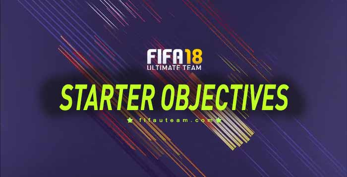 FIFA 18 Starter Objectives Guide - List. Rewards and Instructions