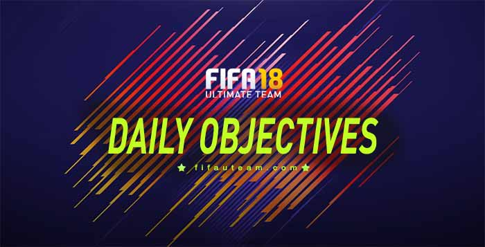 FIFA 18 Daily Objectives List and Rewards for FIFA 18 Ultimate Team