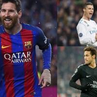 Cristiano Ronaldo vs Lionel Messi vs Neymar 2018