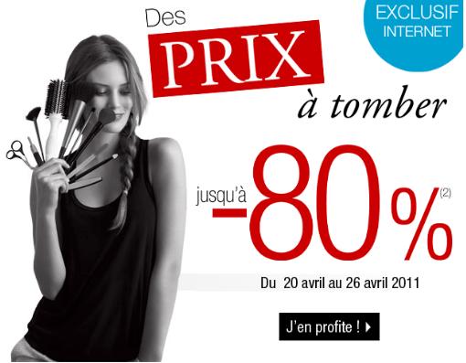 Des prix à tomber sur Sephora (jusquà  80%)   2011 04 20 14h51 17