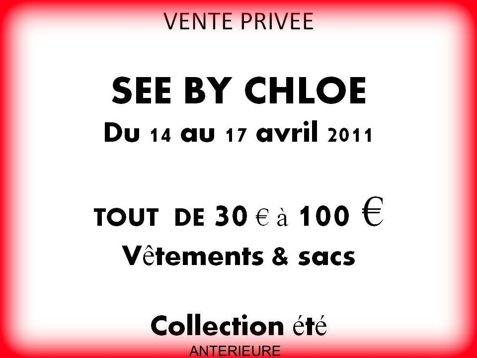 Vente Privée See by Chloé   220373 2027103917181 1231530327 2475619 8061194 o