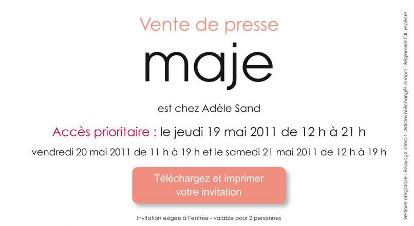 Vente privée Maje chez Adèle Sand   2011 05 17 17h35 27