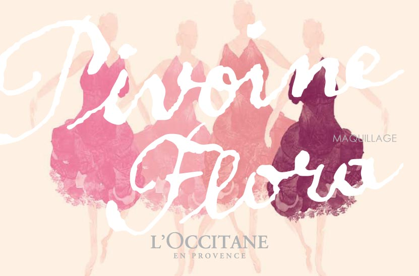 Rose comme une pivoine   LOccitane Pivoine Flora 01