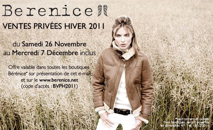 Vente privée Berenice   Hiver 2011   bvph2011b