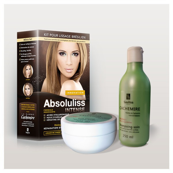 Lissage intense avec Absoluliss [Concours Inside]   lissage bresilien intense soins sans sulfates