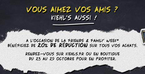 Kiehls Friend & Family   Automne 2012   2012 10 24 15h32 36
