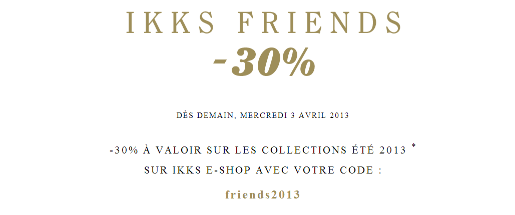IKKS Friends   Printemps 2013   ikks friends