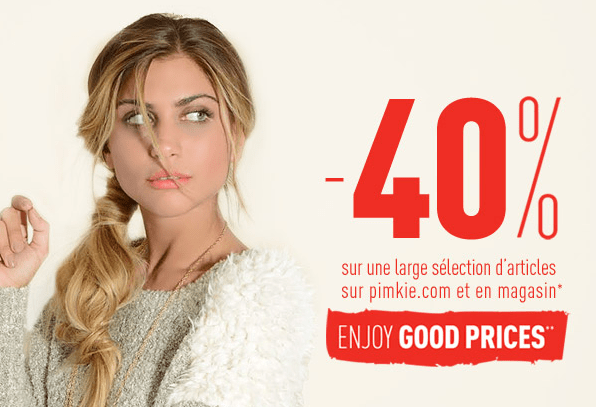 Good Prices Pimkie   Novembre 2013   pimkie promotion