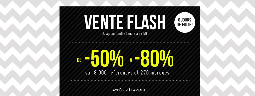 Vente flash monshowroom