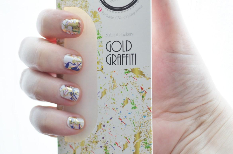 Du Pollock sur mes ongles   nail patch me