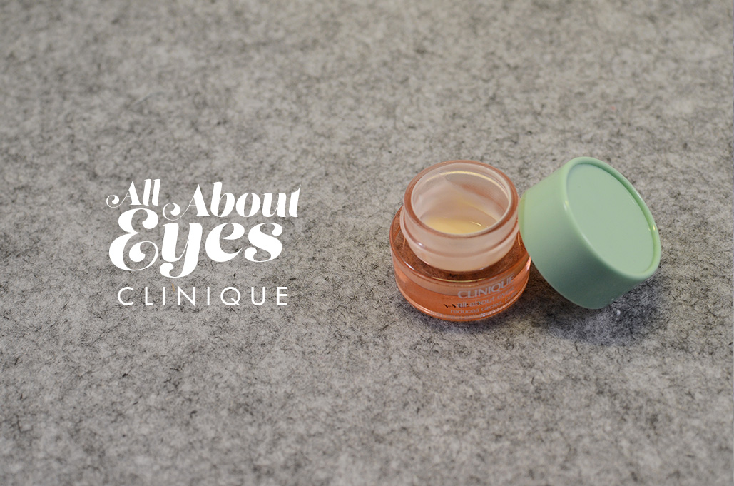 Ma tartine du moment #1   all about eyes clinique