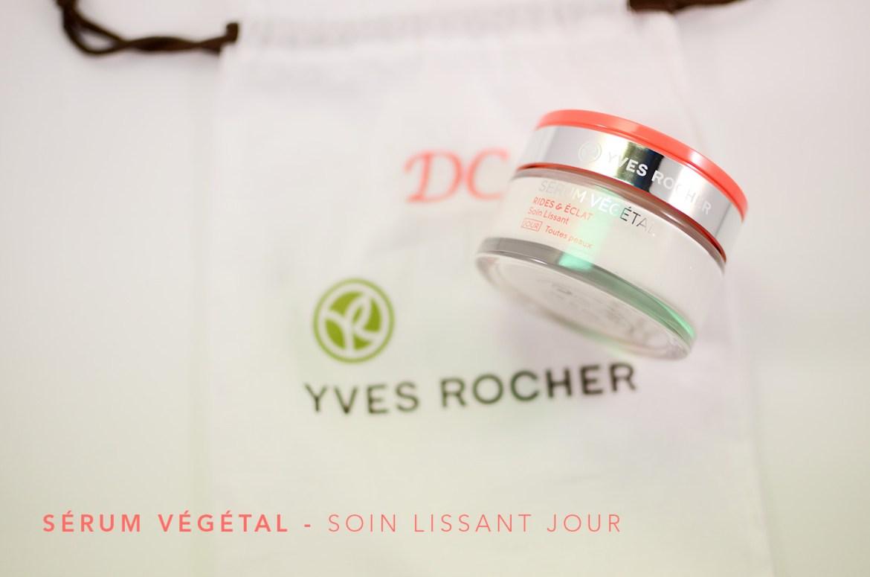 Sérum Végétal, la nouvelle gamme star dYves Rocher   serum vegetal soint lissant jour yves rocher