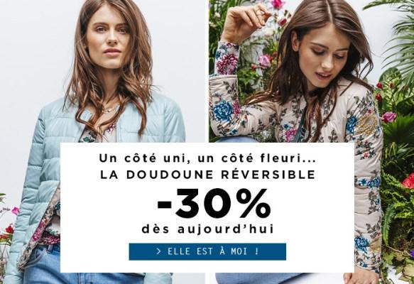 La doudoune réversible Promod   la doudoune reversible promod 583x400