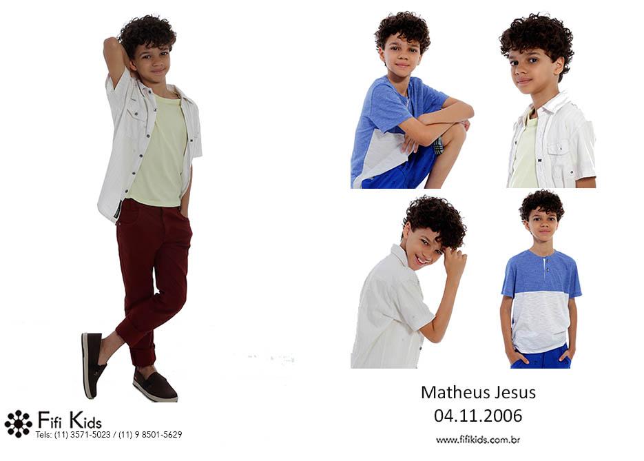 Matheus Jesus Fifi Kids Agência de modelos e atores mirins