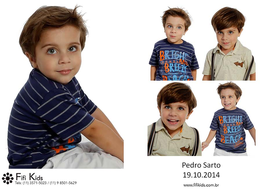 Pedro Sarto Fifi Kids Agência de modelos e atores mirins