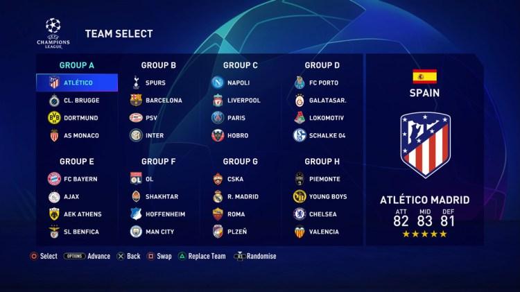 Champions League 2021 21