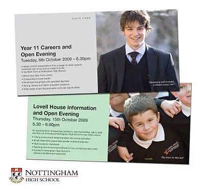 nottingham high school corporate brochure