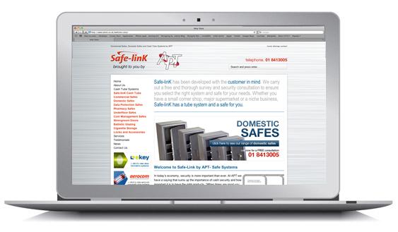 overseas company APT website design