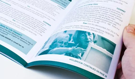 booklets by Fifteen for WEA