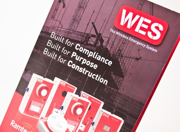 Ramtech Electronics brochure design