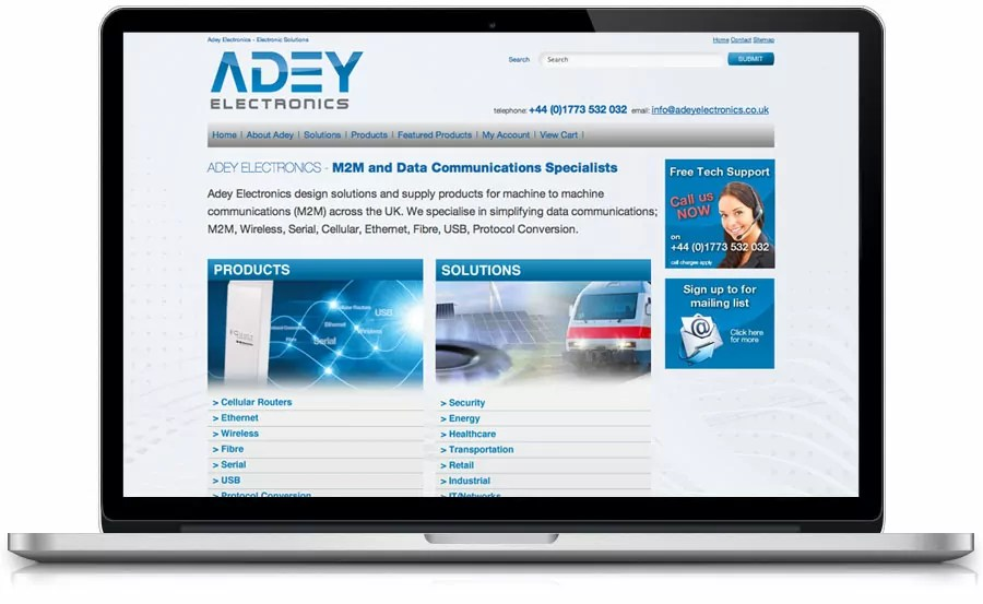 adey-electronics-e-commerce-web-design