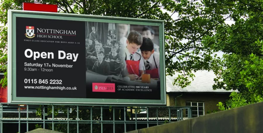 nottingham-high-school-billboard-design