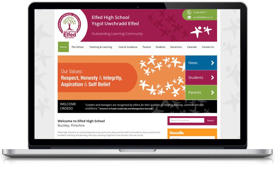 school-website-design-elfed-high-school