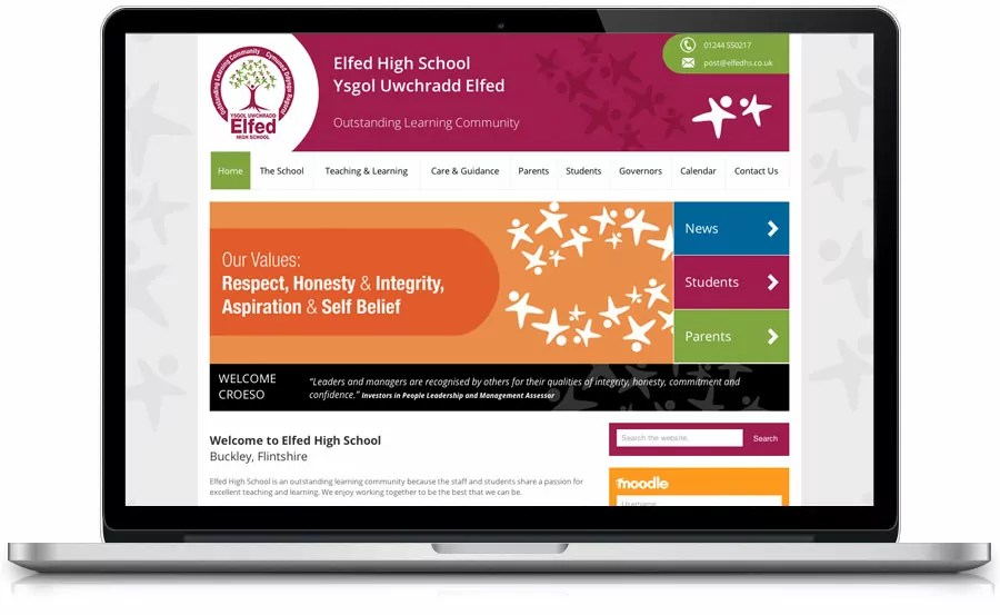 school-website-design-elfed-high-school