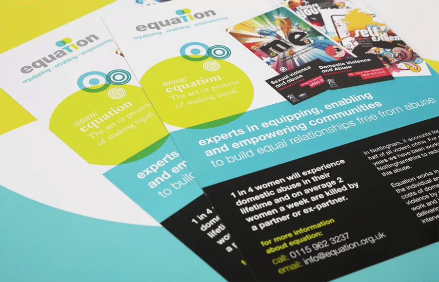 relaunch as equation design and print