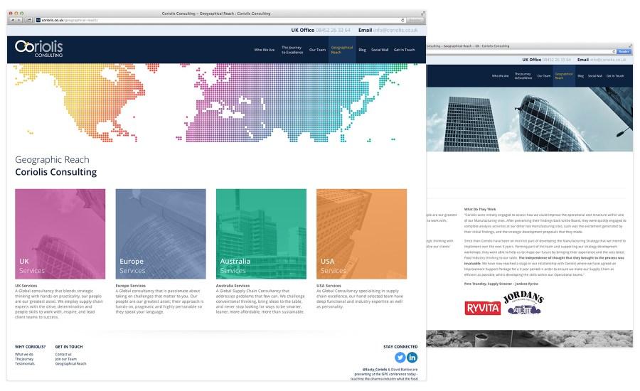 Coriolis Web Design