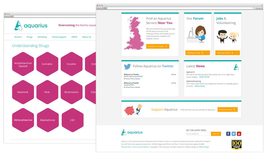 Aquarius Responsive Web Design Nottingham