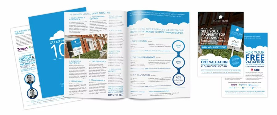 Cloudhouse Brochure Design