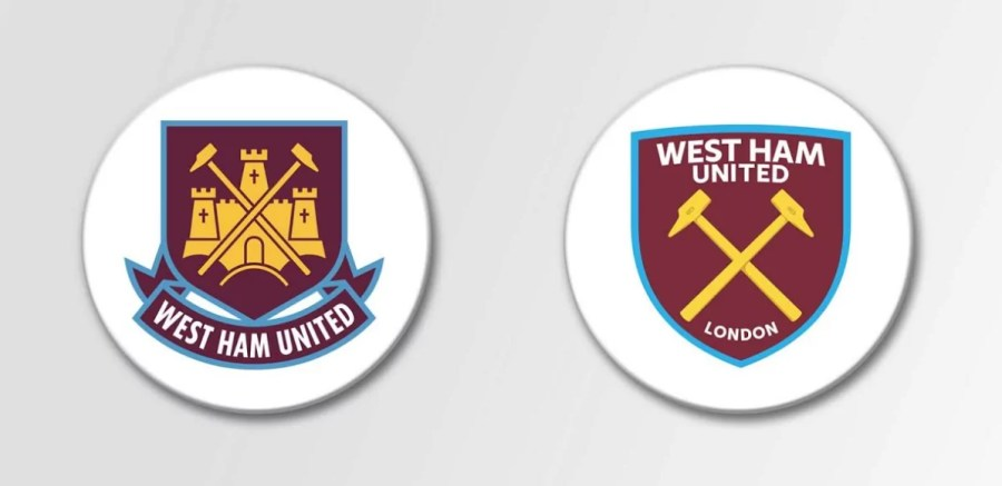 west ham badge - fifteen design