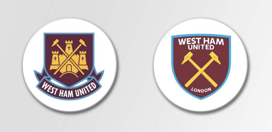 west ham badge - fifteen design