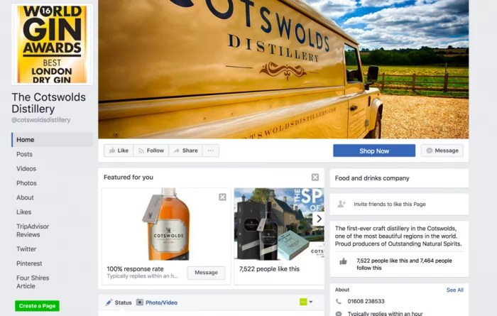 cotswold distillery facebook