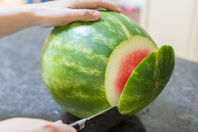 ripe sweet watermelon