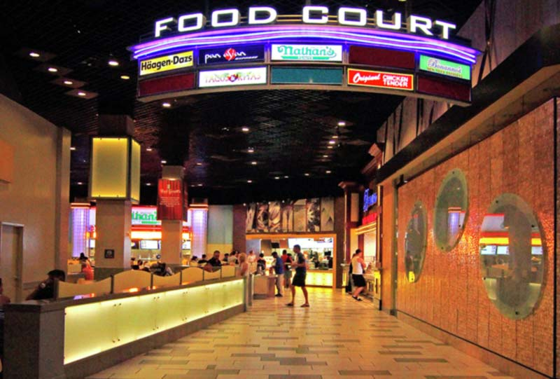 Las Vegas Food Courts by Fifth Avenue Restaurant Group
