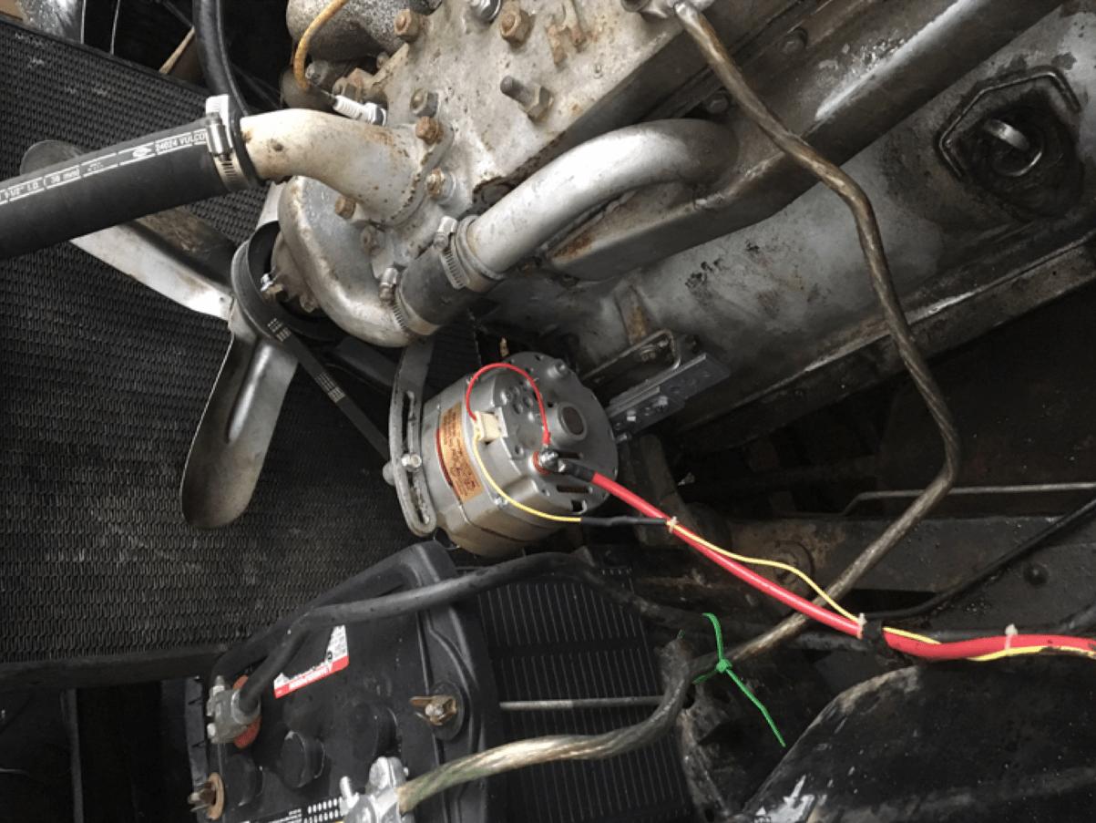 hight resolution of fifth avenue internet garage alternator and bracket installation
