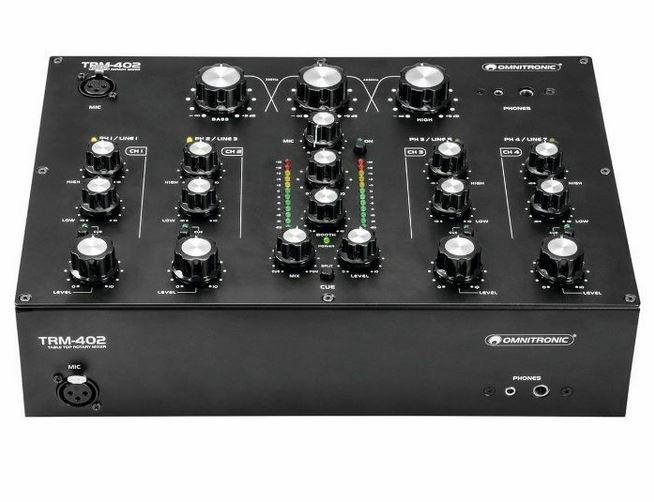 Omnitronic TRM-402 Review