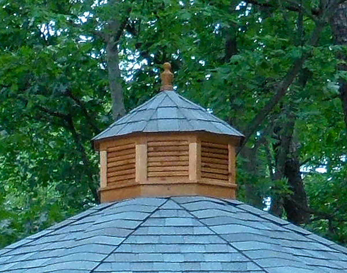 Red Cedar Octagon Cupola