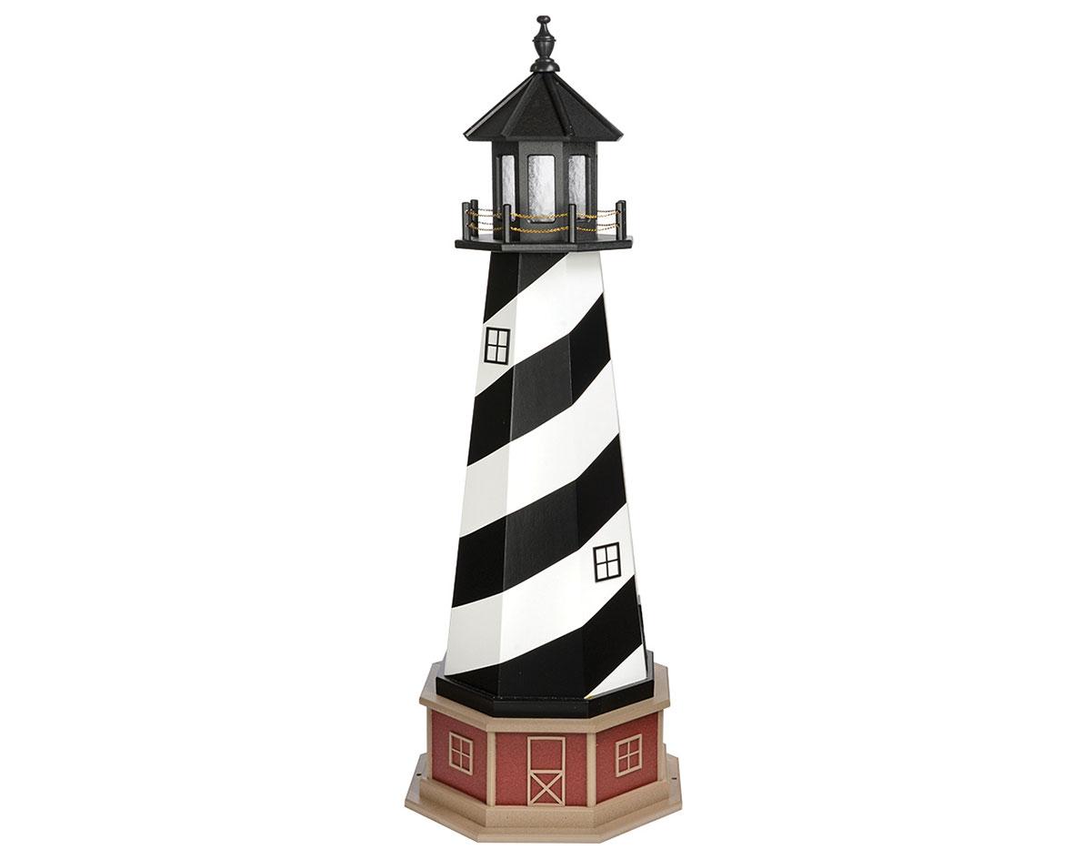Poly LumberWooden Hybrid Cape Hatteras Lighthouse Replica