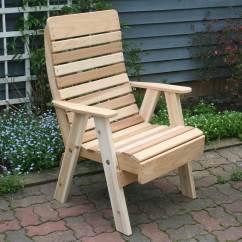 Chair Bench Table Stool Sleeper Chairs Ikea Red Cedar Royal Highback Patio
