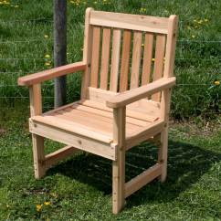 Deck Chair Images Twin Pull Out Sleeper Red Cedar English Garden Patio