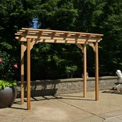 Red Adirondack Chairs Chair With Laptop Stand India Courtyard Pergola