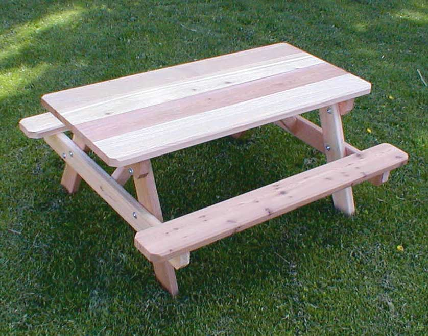Red Cedar Kids Picnic Table
