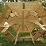 Free Octagon Wooden Picnic Table Plans Personal Woodworking Plans And Projects