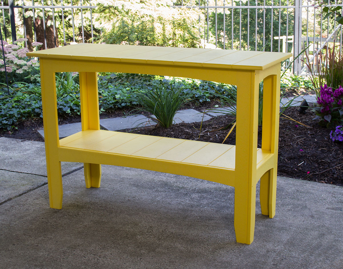 Poly Lumber 50 Buffet Table